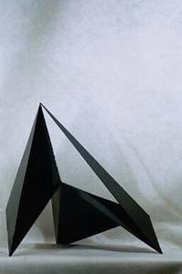 #43 a steel sculpture by Sondra Gold