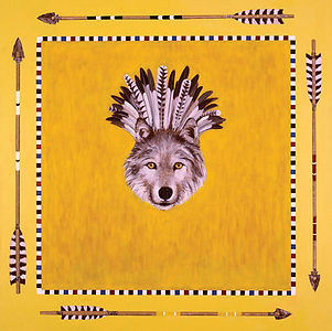 Kazaan Viveiros's War Bonnet Wolf