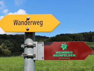 Unterwegs auf dem Weinweg Weinfelden