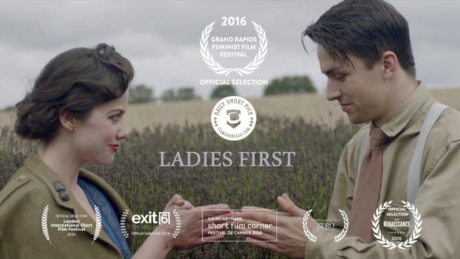 'Ladies First' online premier!