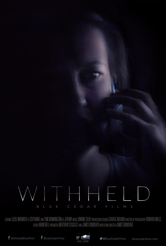 'Withheld' Film Poster reveal!