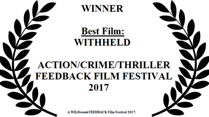 Withheld wins BEST FILM!