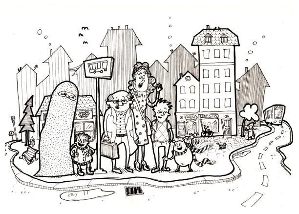 Illustration til børnebogsprojekt