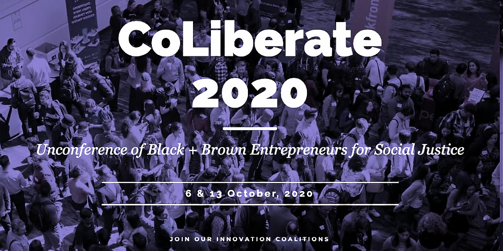 Co-Liberate - unconference October 6th & 13th 2020