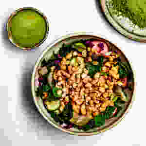 Kale salad recipe   Miso dressing recipe