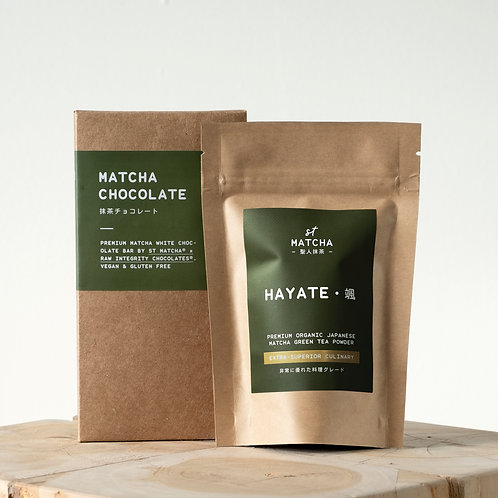 St Matcha Japanese Matcha Powder | HAYATE