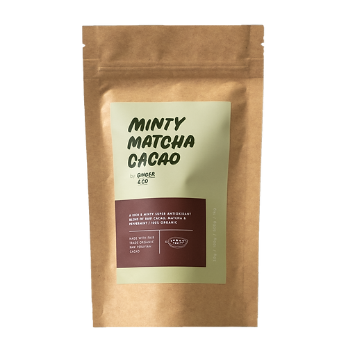 Buy Mint Cacao Latte Mix Online | Ginger & Co