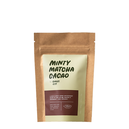MINTY MATCHA CACAO LATTE (Sample)