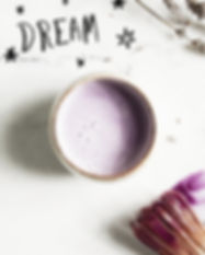 Buy Lavender Sleep Tea Latte Online | Ginger & Co