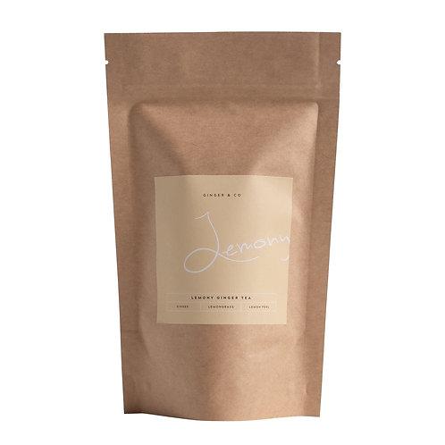Buy Lemon Ginger Tea Online | Ginger & Co