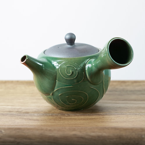 HISUI Kyusu Japanese Teapot by St Matcha