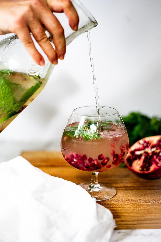 Festive Ginger Cocktail Recipe