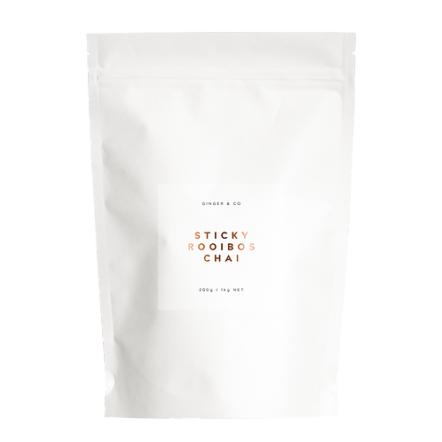 Buy Sticky Rooibos Chai Online | Ginger & Co