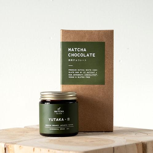 St Matcha Japanese Matcha Powder | YUTAKA