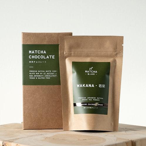 St Matcha Premium Matcha Powder | WAKANA