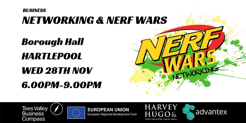 Networking & NERF Wars Hartlepool