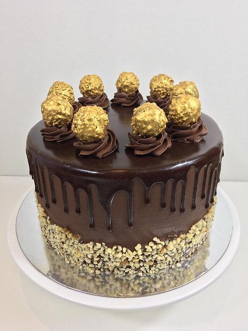 BOSSY NUTELLA BIRTHDAY CAKE