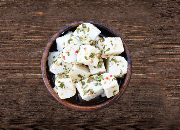 Feta Cheese with Chilli