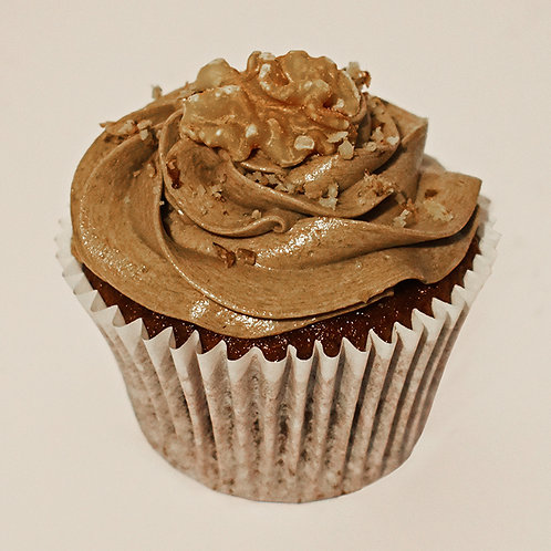 Coffee & Walnuts Cupcake