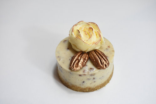 Mini Peanut Caramel Cheesecake