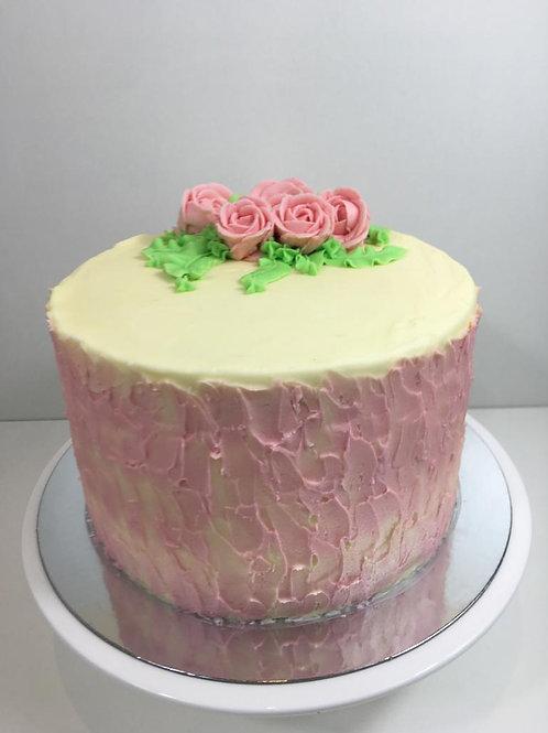 RASPBERRY BIRTHDAY CAKE