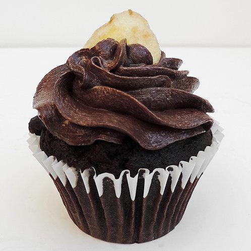 Chocolate & Banana Cupcake