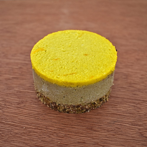 Almond and Orange Cheesecake - Vegan, Wheat Free and Sugar Free