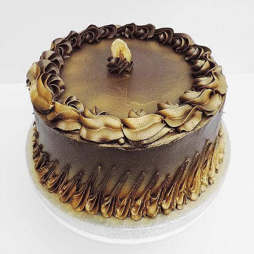 Chocolate and Banana Cake