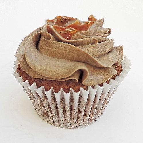 Vegan Salted Caramel Cupcake