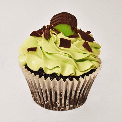 Mint & Chocolate Cupcake