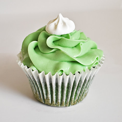 Spinach and Lemon Cupcake