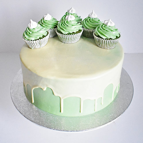 Spinach and Lemon Cake