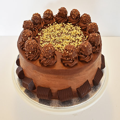 Nutella and Chocolate Cake