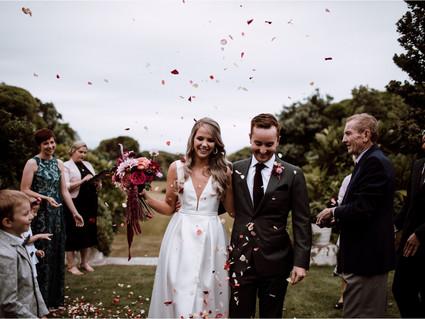 Liam + Anya, Paripuma, New Zealand wedding