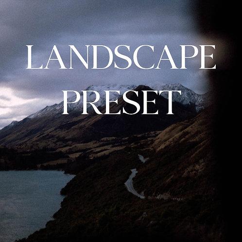Lightroom preset Landscape