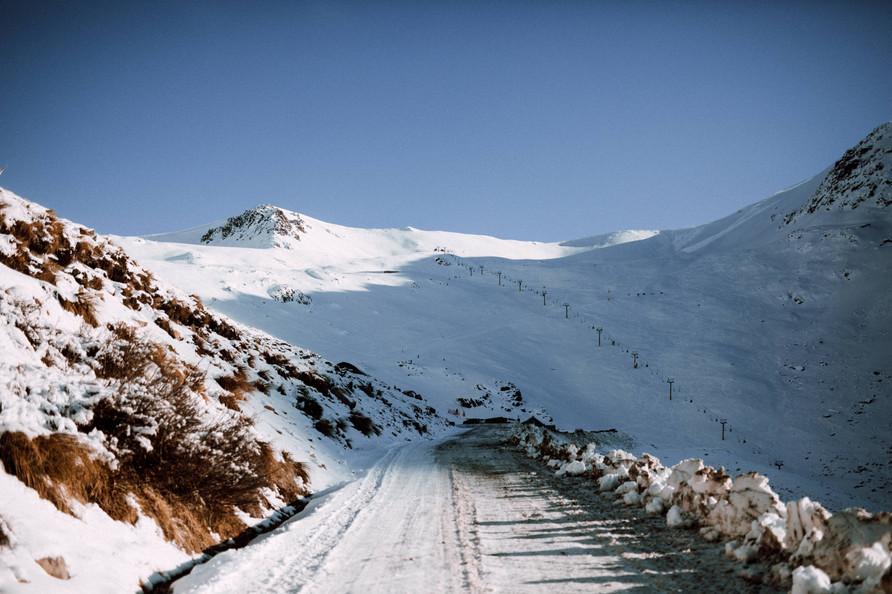 Ohau snowfield