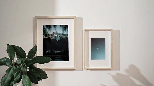 Fox glacier print