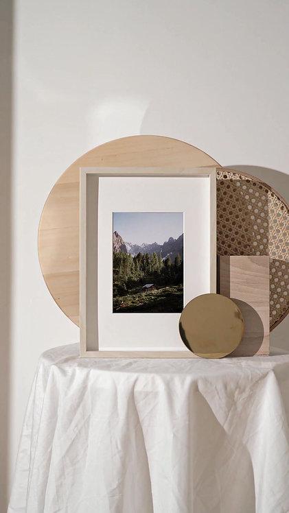 Austrian hut - print