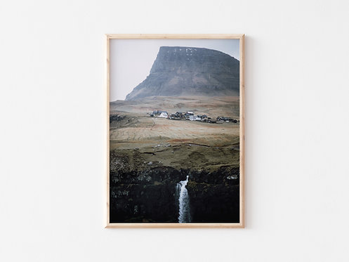 Faroe Islands print I