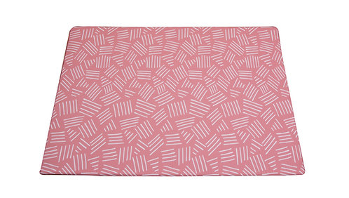Small - CUSHY PLAY MAT - Milkshake Pink
