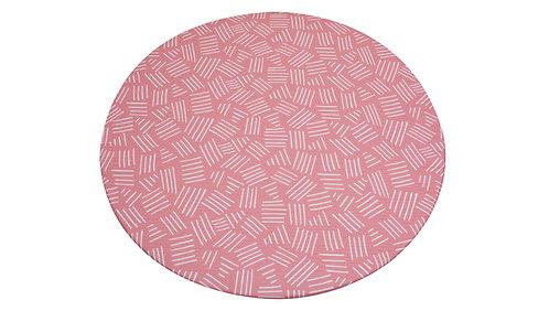 Rund - CUSHY PLAY MAT - Milkshake Pink