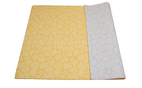 Groß - CUSHY PLAY MAT - Lemon Fizz