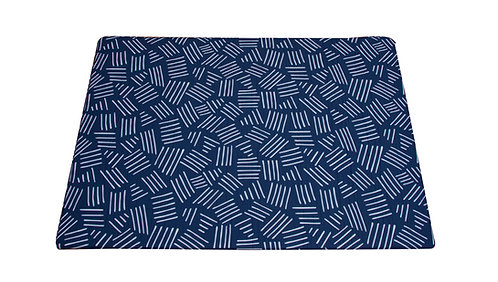 Small - CUSHY PLAY MAT  - Space Blue