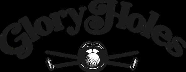 Gloryholes black logo.png