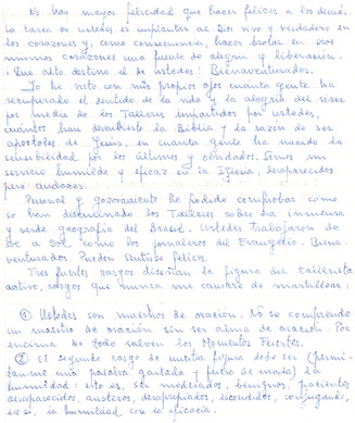 Message Father Ignacio, Part 1