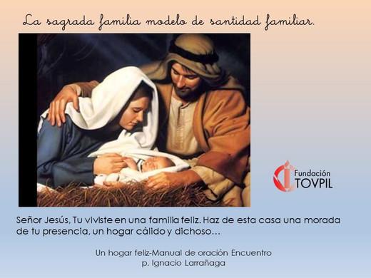 Modelo de santidad familiar
