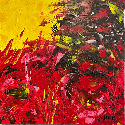 Emotions in Red & Yellow II