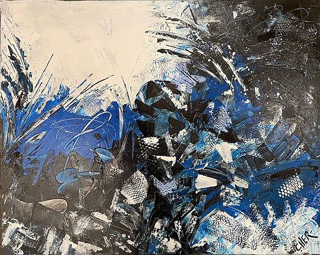 Emotions in Blue I