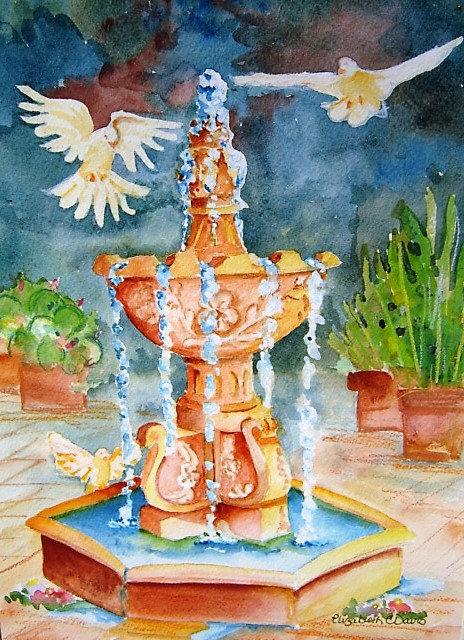 Fountain at San Fernando