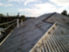 Old roof in need of restoration.